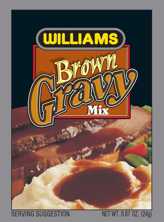 Williams Brown Gravy Front Panel300