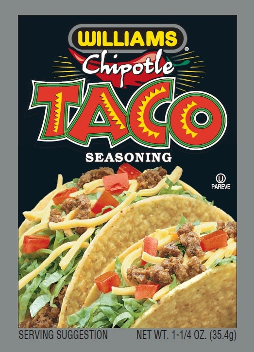 Williams Chipotle Taco Front Panel300