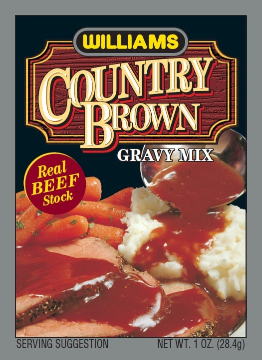 Williams Country Brown Gravy-Front Panel300