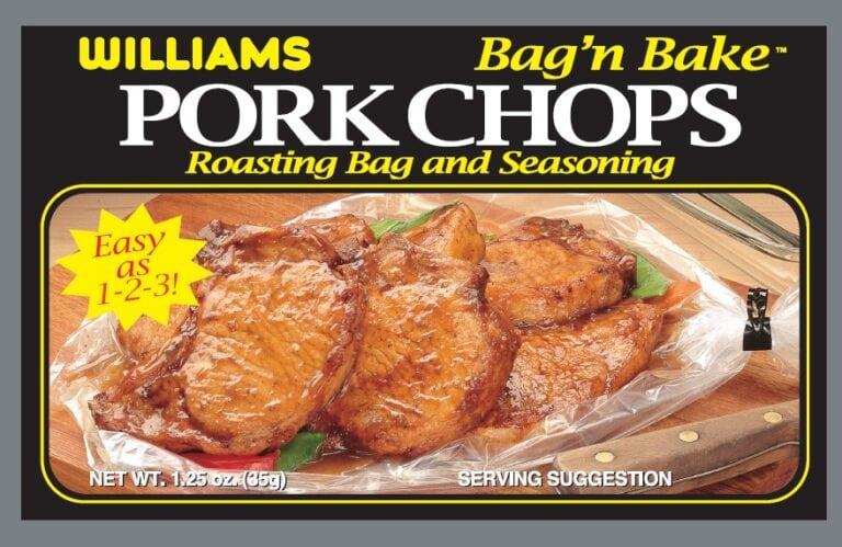 Williams Pork Chop Bagn Bake Front Panel300