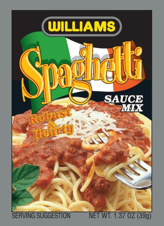 Williams Spaghetti-Front Panel300