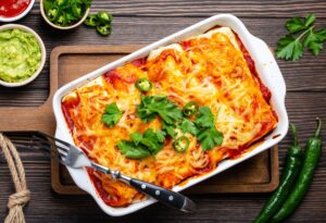 Awesome Chicken Enchiladas
