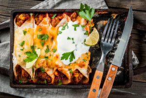 Chili Burrito Bake