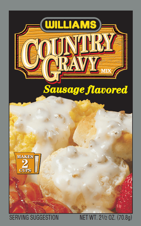 Country Gravy Sausage Flavored