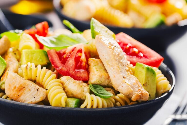 Italian Pasta Chicken Salad