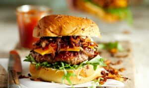 Not So Sloppy Barbecued BurgersWILLIAMS0657 e1614801920346